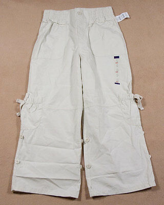 The Childrens Place Nwt Girls 8 Capri Pants Tcp Convertible Adjustable Length