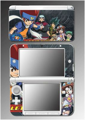 Beyblade Metal Fury Master Fusion Anime Game Skin Cover 6 for Nintendo 3DS XL