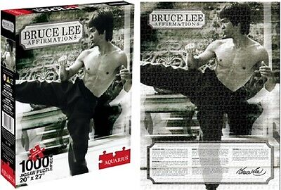Bruce Lee Affirmations 1000 Pc Jigsaw Puzzle NEW SEALED