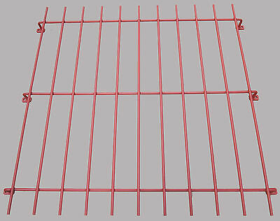 Window Security Grilles Bars Raised for Home Garage Office Primed Red Oxide 1 mt