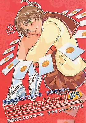 The Vision of Escaflowne doujinshi Van x Hitomi Anthology comic 100Pages!