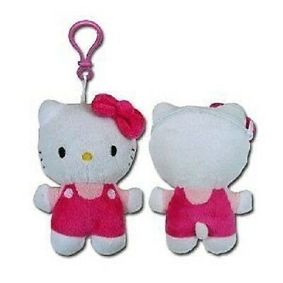 Hello Kitty Keychain with Zipper Pull Coin Purse on Back 6""