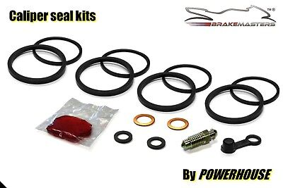 Yamaha TZR 250 2MA front brake caliper seal repair rebuild kit set 1986 1987