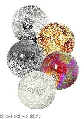 Mosaic Glass Small Balls - Choose Colours - Great Focal Point For Rooms