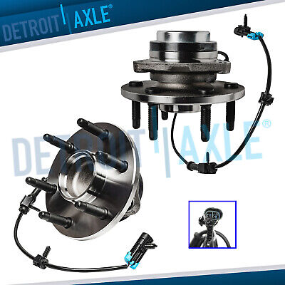 Both (2) Brand New Complete Front Wheel Hub & Bearing Assembly Chevy GMC 2WD