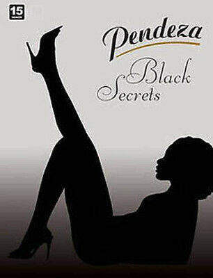 7dde084e6860d PENDEZA-Toned Collection Black Secrets Sheer Tights-15 Den - Sizes M,L