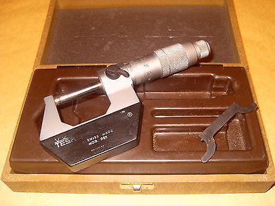 Tesa 0 - 25mm Micrometer - Swiss Made. - As Photo
