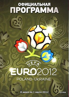 EURO 2012 Official Tournament Brochure - in Russian