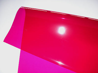 "21"" X 48"" 111 Dark Pink Lighting Filter Colour Effects Gel Theatre DJ TV Lights"