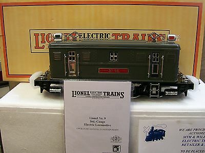 MTH Lionel Corporation Tinplate Gray # 9 Electric Locomotive Nickel Trim DCS PS2