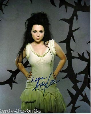Amy Lee #2  8 x 10 Autograph Reprint Evanescence