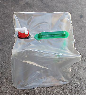 Water Carrier / Shower 20 Liter Foldable, PVC Water Storage, Bath Camping Travel