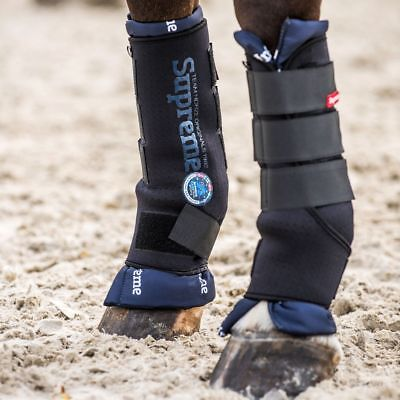 Horze Padded Protection Stable Wrap Around Boots with Removable Padded Liner