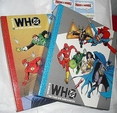 WHO'S DC - INT THE DC UNIVERSE - COMPLETA 2 VOLUMI - play press - RARA