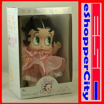Baby Betty Boop Doll Limited Edition Gift Toys Pink Dress