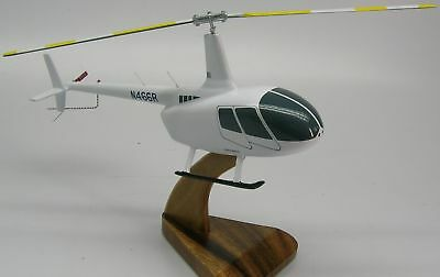 R-66 Robinson R66 Helicopter Wood Model Free Shipping Regular