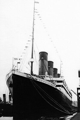 New 5x7 Photo: White Star Line RMS TITANIC, Ill-fated Ocean Liner in 1912
