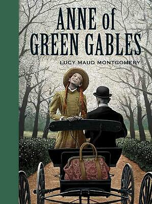 Anne of Green Gables by Lucy Maud Montgomery (English) Hardcover Book Free Shipp
