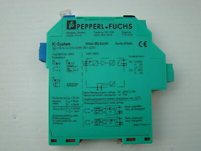Pepperl + Fuchs Isolated Switch Amplifier KFA6-SR2-Ex1.W