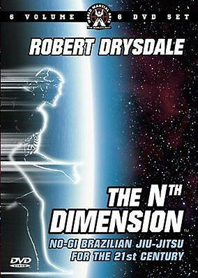 ROBERT DRYSDALE THE Nth DIMENSION DVD SET NOGI GRAPPLING FOR THE 21st CENTURY