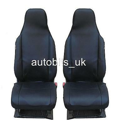 New Quality Tailored Black Front Seat Covers For Citroen C1 Toyota Aygo