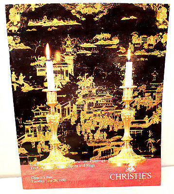Christie's East English Continental Furniture Paintings Decorative Objects 1990
