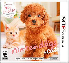 Nintendogs + Cats: Toy Poodle & New Friends Nintendo 3DS BRAND NEW AND SEALED