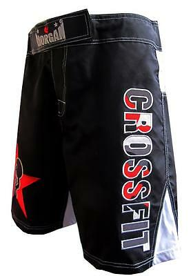 "Crossfit ""bellstar"" Training Shorts Blk/wht Med 32-34 Waist - Wod Box Crossfit"