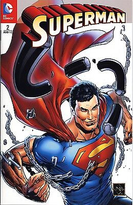 SUPERMAN (2012) #2 (deutsch) RETAILER-ULTRA-VARIANT-COVER  lim.99 Ex.