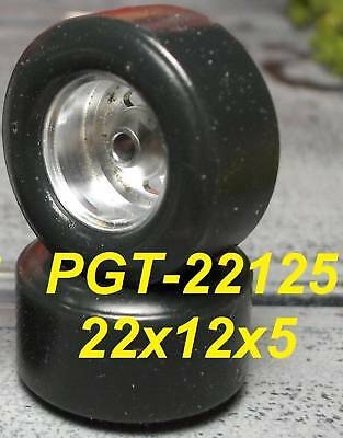 1/32 URETHANE SLOT CAR TIRE 2pr PGT-22125 fit SCC 15x8