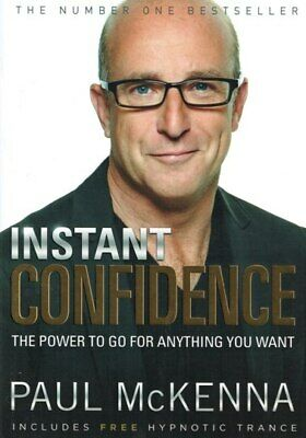 Instant Confidence by Paul McKenna (NEW)