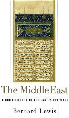 The Middle East by Bernard W. Lewis (English) Paperback Book Free Shipping!