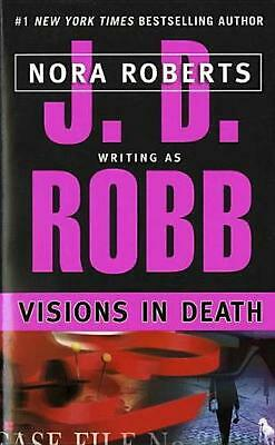 Visions in Death by J.D. Robb (English) Mass Market Paperback Book Free Shipping