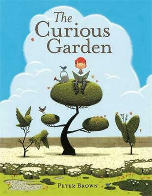 The Curious Garden by Peter Brown (English) Hardcover Book Free Shipping!
