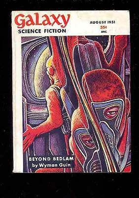 (PULP) GALAXY SCIENCE FICTION vol. 2 n° 5, 8.1951 édition originale USA
