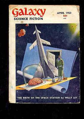 (PULP) GALAXY SCIENCE FICTION vol. 6 n° 1, 4.1953 édition originale USA