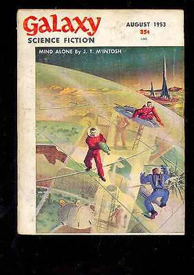 (PULP) GALAXY SCIENCE FICTION vol. 6 n° 5, 8.1953 édition originale USA