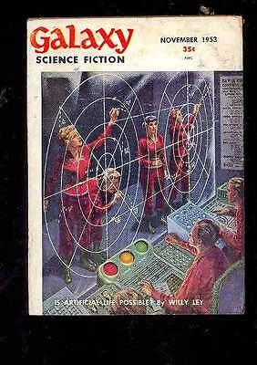 (PULP) GALAXY SCIENCE FICTION vol. 7 n° 2, 11.1953 édition originale USA