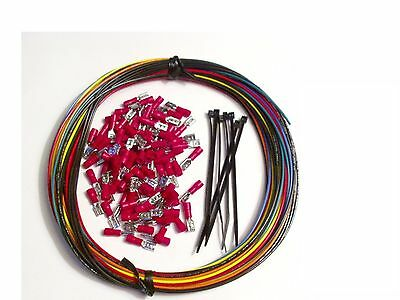 WIRE KIT MAME Arcade Game Crimps controls panel button joystick hyperspin HAPP