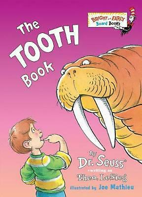 The Tooth Book by Theo LeSieg (English) Board Books Book Free Shipping!