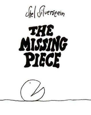 The Missing Piece by Shel Silverstein (English) Hardcover Book Free Shipping!