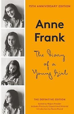 The Diary of a Young Girl: The Definitive Edition by Anne Frank (English) Paperb