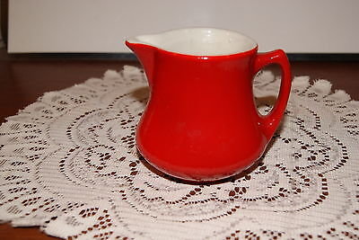 VINTAGE....ESTATE....RED, WITH WHITE INSIDE....SHENANGO....CREAMER
