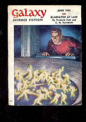 (PULP) GALAXY SCIENCE FICTION vol. 8 n° 3, 06.1954 édition originale USA