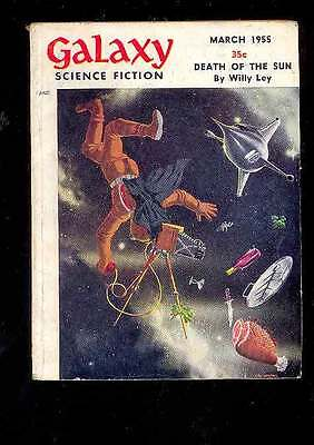 (PULP) GALAXY SCIENCE FICTION vol. 9 n° 6, 03.1955 édition originale USA