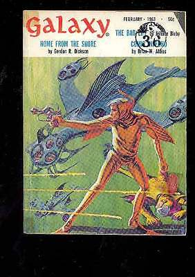 (PULP) GALAXY SCIENCE FICTION 2.1963 édition originale USA