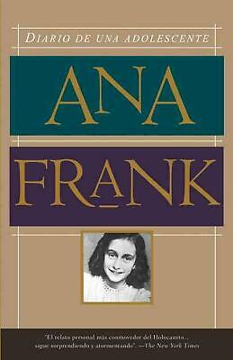 Diario de una Adolescente = Diary of a Teenager by Anne Frank (Spanish) Paperbac