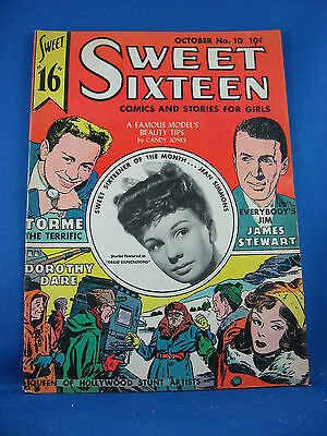 SWEET SIXTEEN 10 VG Fine Jean Simmons Photo Cover James Stewart Story 1947
