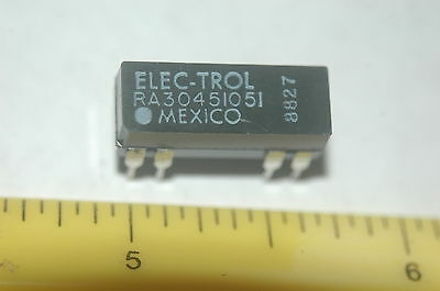 Electrol Ra3045-1051 Spst 5Vdc Dip Reed Relay New Lot Quantity Of 10