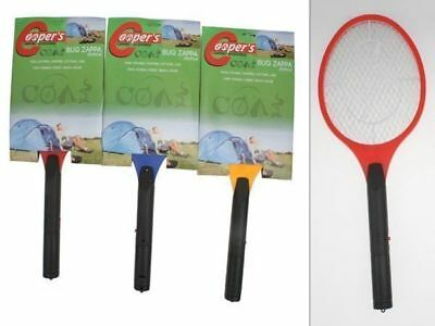 3 x Mosquito fly zapper swatter racquet sporting chance
